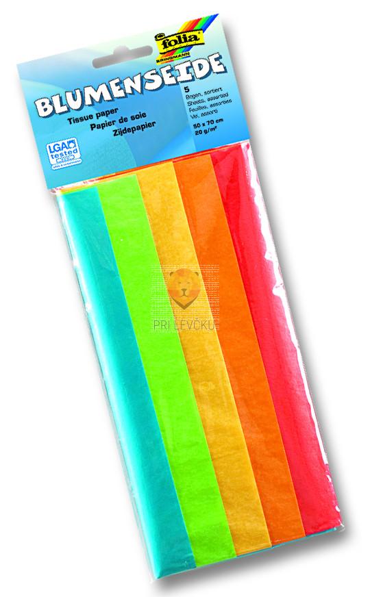 Svileni papir - mix barv