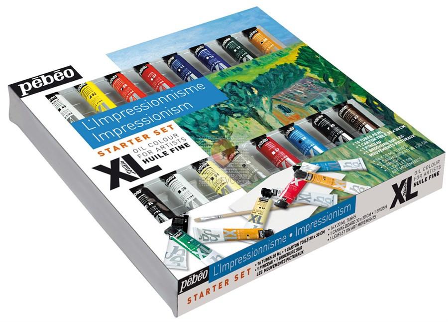 """Set """"Impresionizem"""" oljne barve STUDIO XL"""