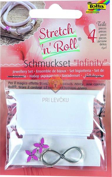 Stretch'n'Roll set za izdelavo nakita Infinity