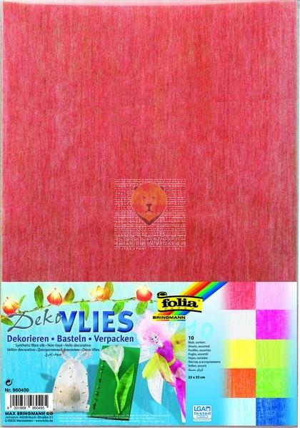 Flis papir barvni miks 23x33cm 10 kosov