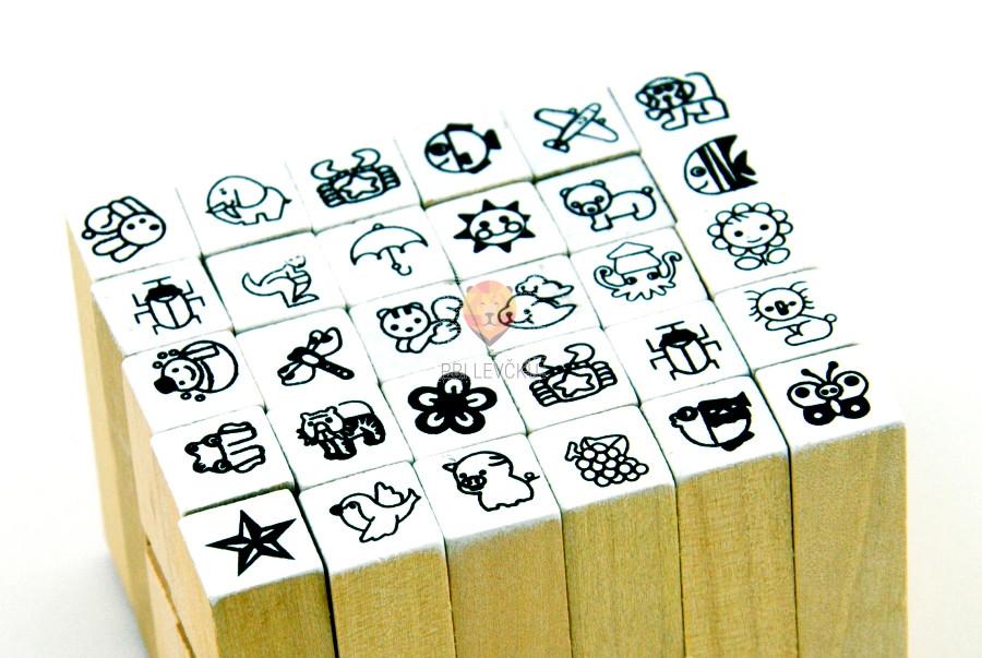 Štampiljke 30 kosov