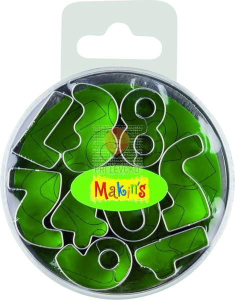 Set kovinski modelčki za izrezovanje Številke 8 kosov