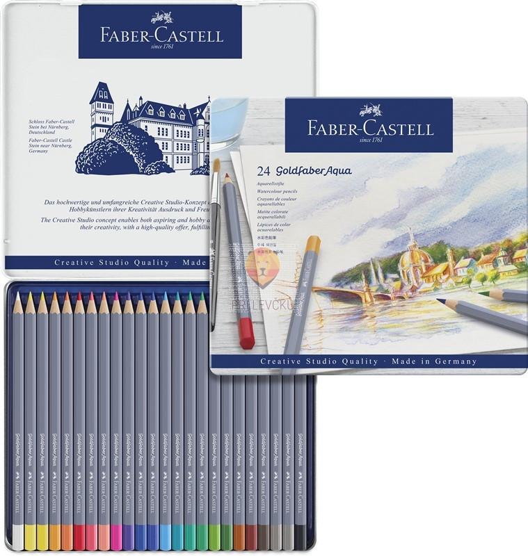 Akvarelne barvice Goldfaber 24/1 Faber-Castell