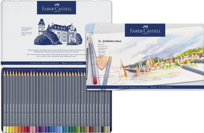 Akvarelne barvice Goldfaber 36/1 Faber-Castell