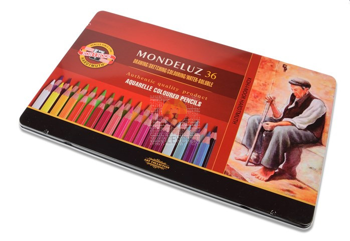 Akvarelne barvice Mondeluz 72/1 koh-I-Noor