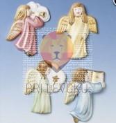 Kalup za ulivanje 4 angeli