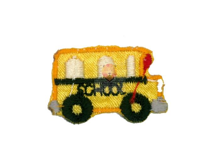Našitek samolepilni - Avtobus 1,5 cm x 2,5 cm