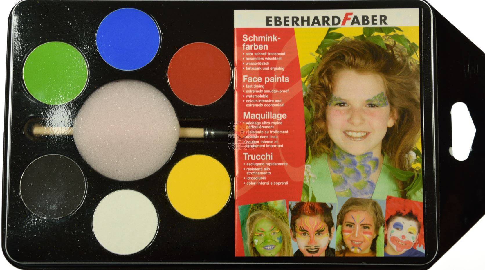 Set barv za kožo Zabava