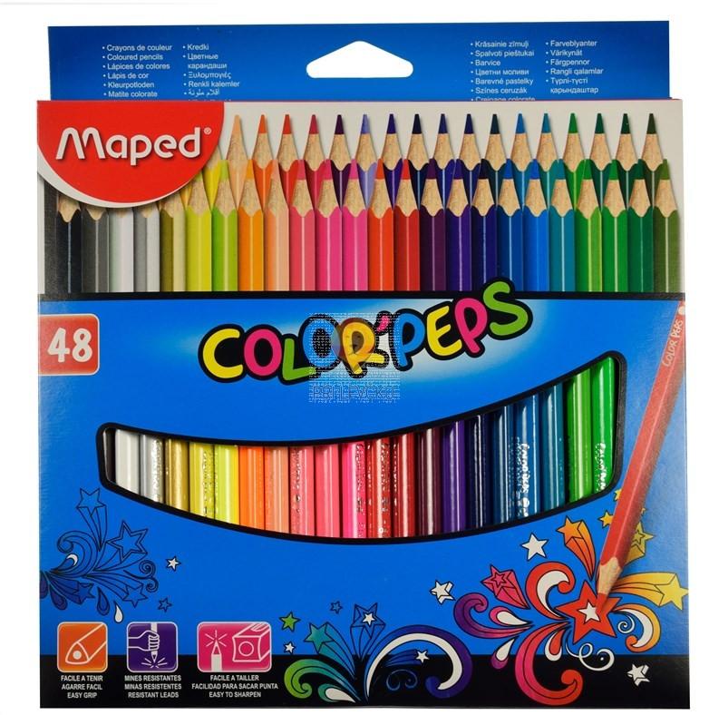 Trikotne barvice Color'Peps Maped 48/1