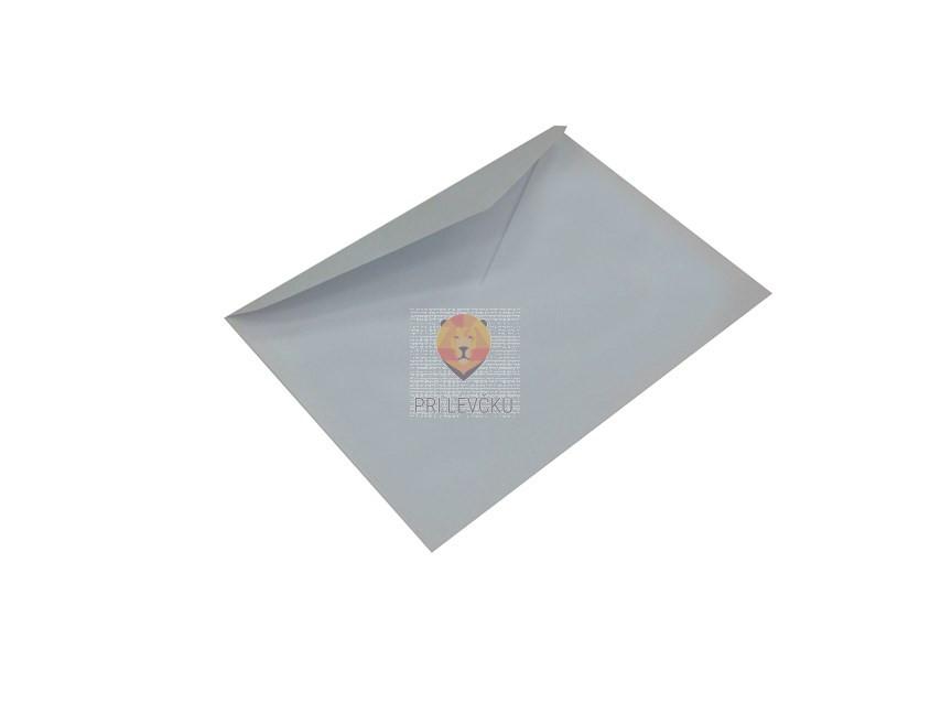 Bela klasična kuverta 175x125mm 5 kosov