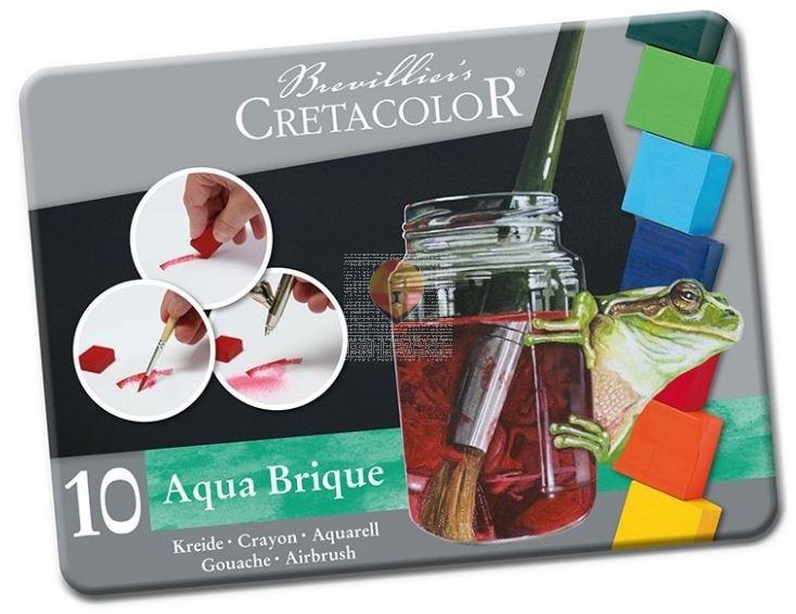 Akvarelni set Aqua Brique 10 kosov