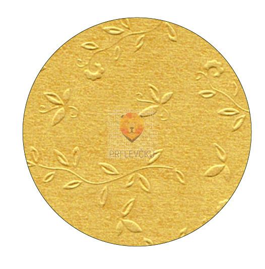 "Reliefni karton vzorec ""Ornament"" - 50 cm x 70 cm"