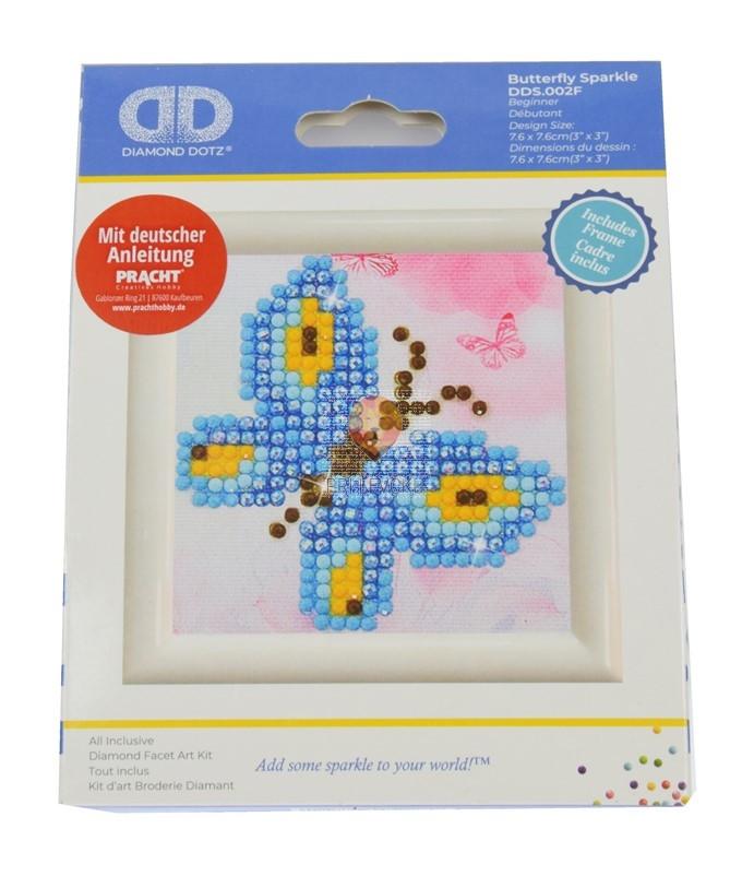 Diamond Dotz začetni set Butterfly Sparkle