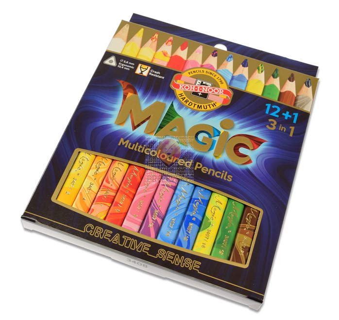 Čarobne barvice Magic 3v1 13/1 Koh-I-Noor