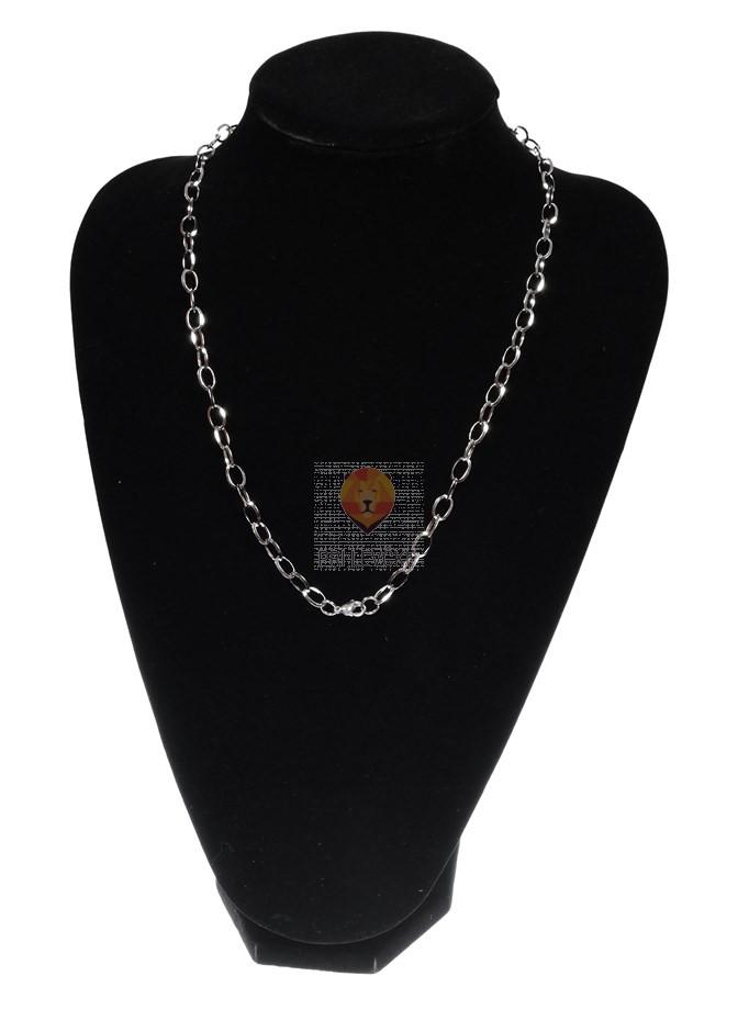 Stojalo za ogrlice imitacija žameta, črn dekolte, 1 kos