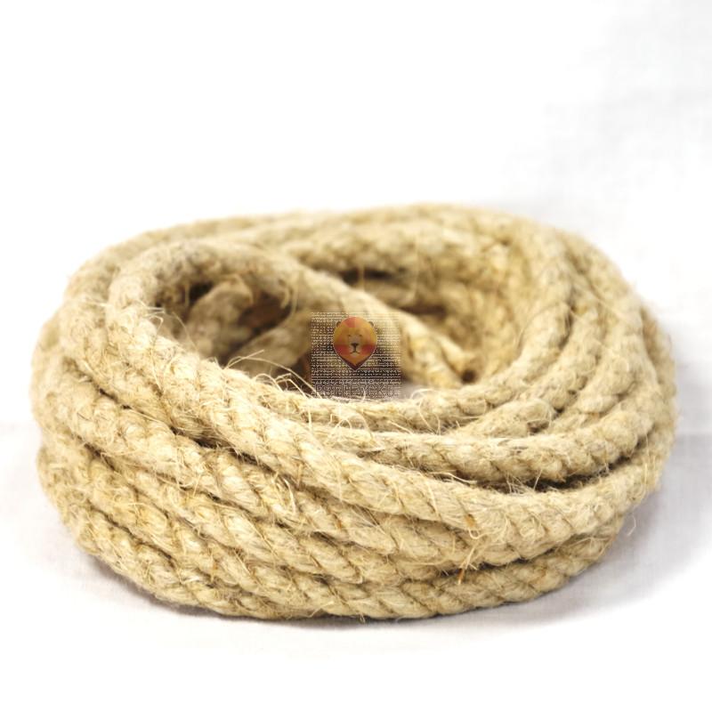 Vrv iz naravnih vlaken 5mm 2,5m