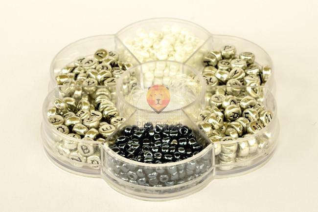 Perle set rožica-črke