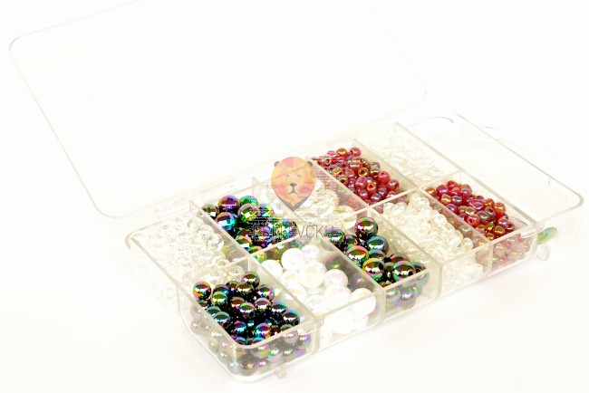 Perle set z bleščicami