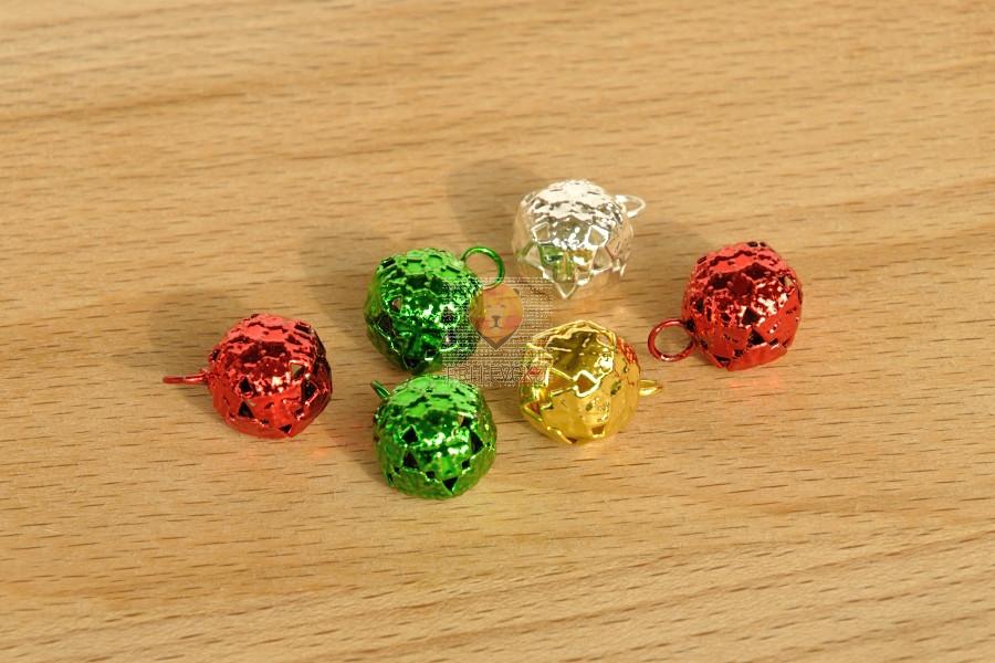 Kraguljčki barvni mix 11mm 6 kosov