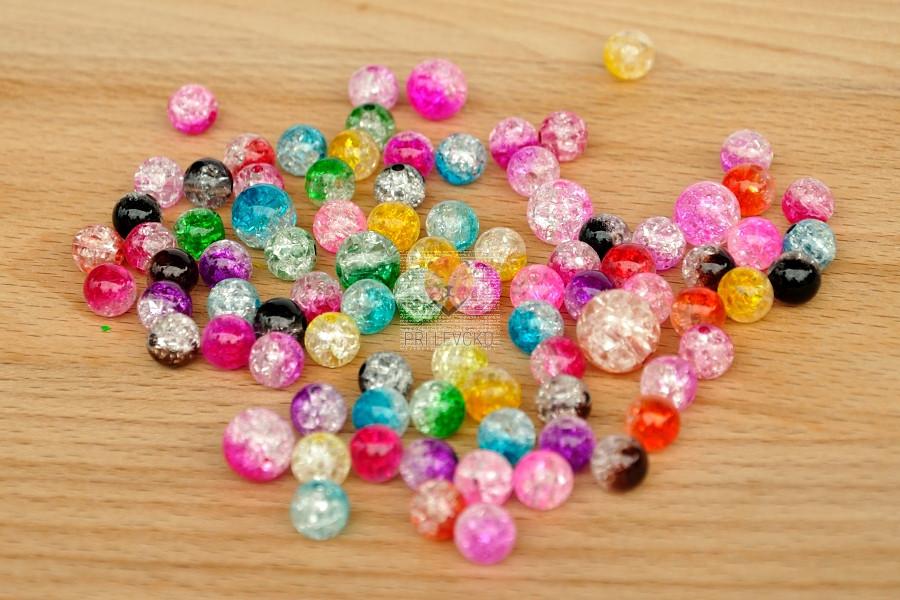 Perle akrilne mix GLASSY 50g
