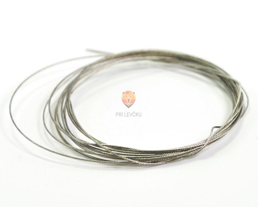 Najlonska žica srebrne barve 0,6 mm