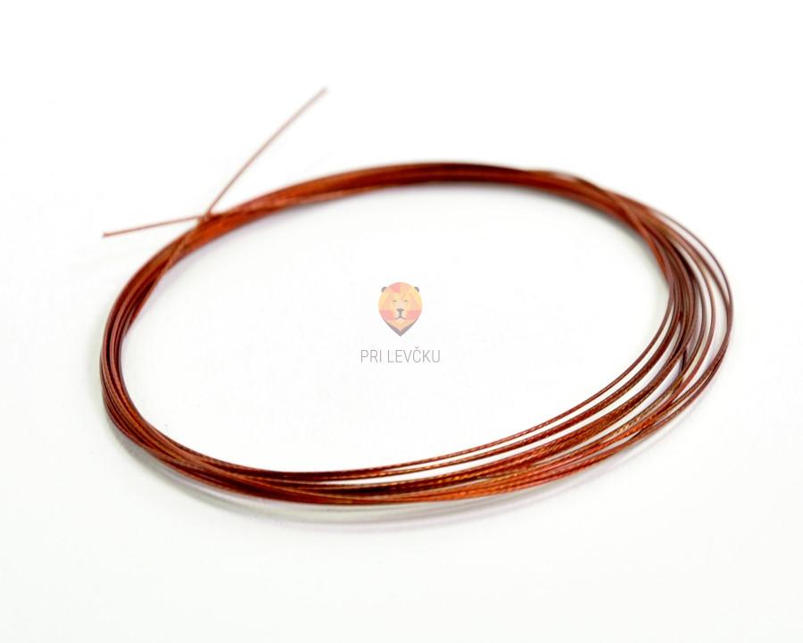 Najlonska žica bakrene barve 0,45mm
