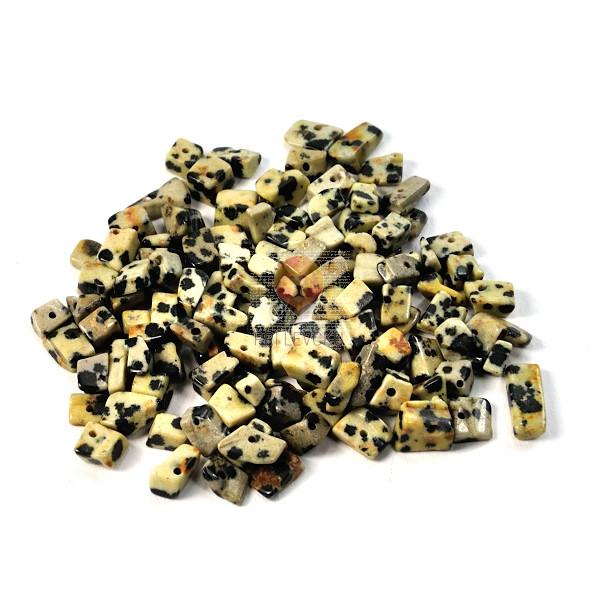 Perle poldragi kamni - lomljenci, leopardova koža 18g