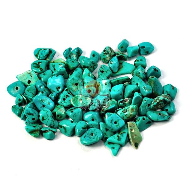 Perle kamni lomljenci barvani 18g