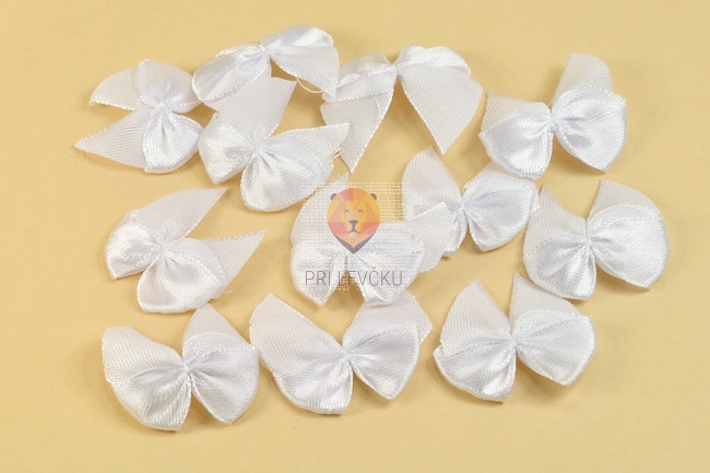 Pentlje iz blaga 12 kosov bela
