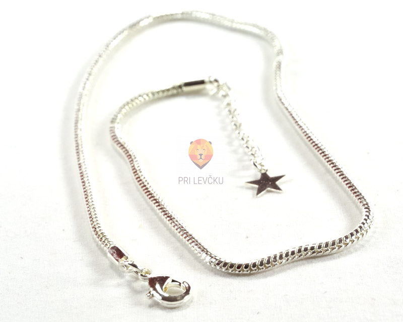 Ogrlica 2,8 mm z zaključkom, 1 kos