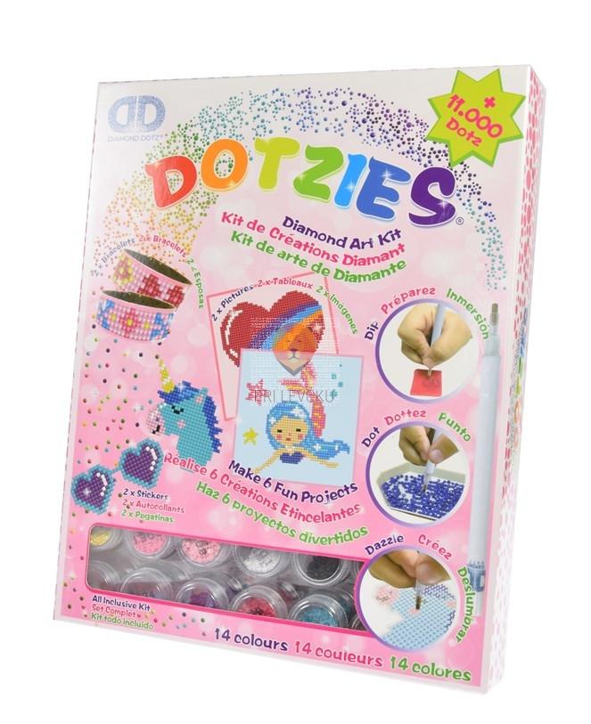 Diamond Dotz DOTZIES Pink Art kit