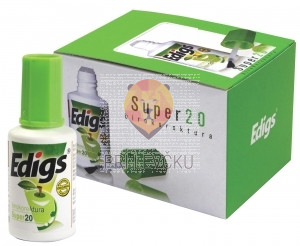 Korekturna tekočina s čopičem Edigs fluid 20 ml