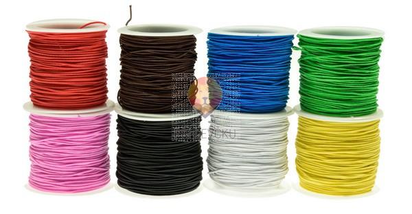 Elastična vrvica barvna 0,8 mm x cca 18 m