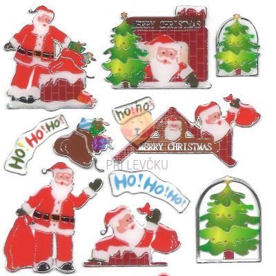 Epoksi nalepke Božički