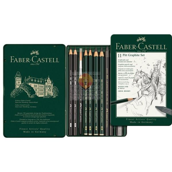 Grafitni set Pitt Graphite 11 kosov Faber-Castell