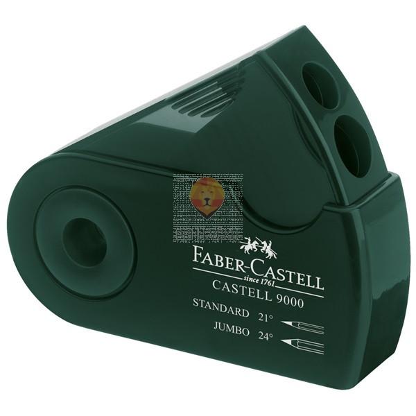 Dvojni šilček s titanovim rezilom Faber-CASTELL 9000