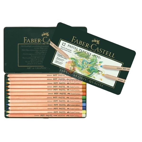Umetniški pasteli v svinčniku Faber-Castell 12/1