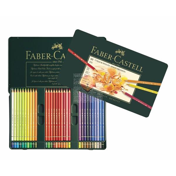 Polychromos umetniške barvice Faber-Castell 60/1