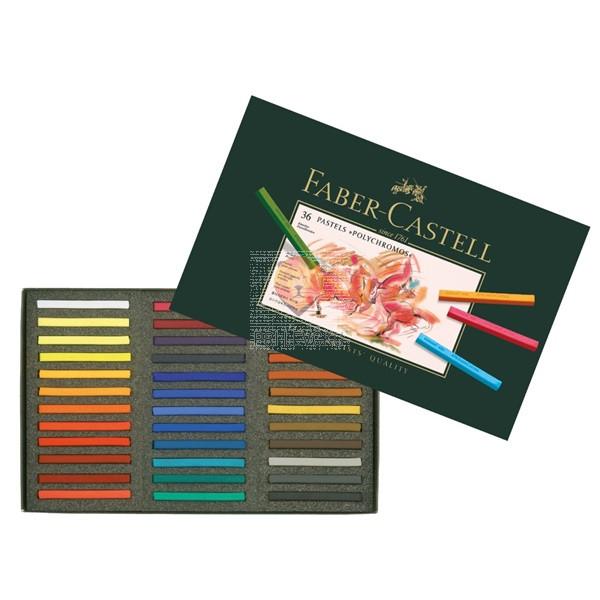 Suhi pasteli POLYCHROMOS Faber-Castell 36/1