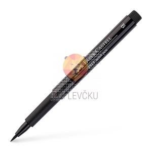 Pigmentiran tuš Brush črn Faber-Castell Pitt Artist Pen