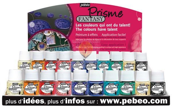 Barva z učinkom satovja FANTASY PRISME 45ml