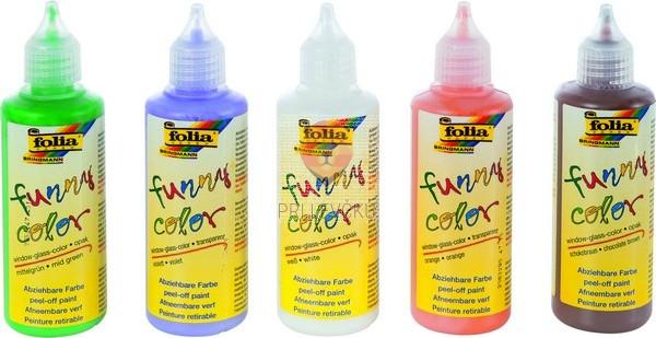 Lepljive barve za steklo Funny Color 80 ml