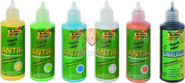 Lepljive barve za steklo Funny Color Antik 80 ml