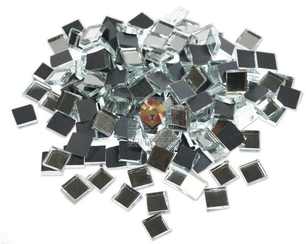 Mozaik zrcalca 10x10mm 125g cca 170kosov