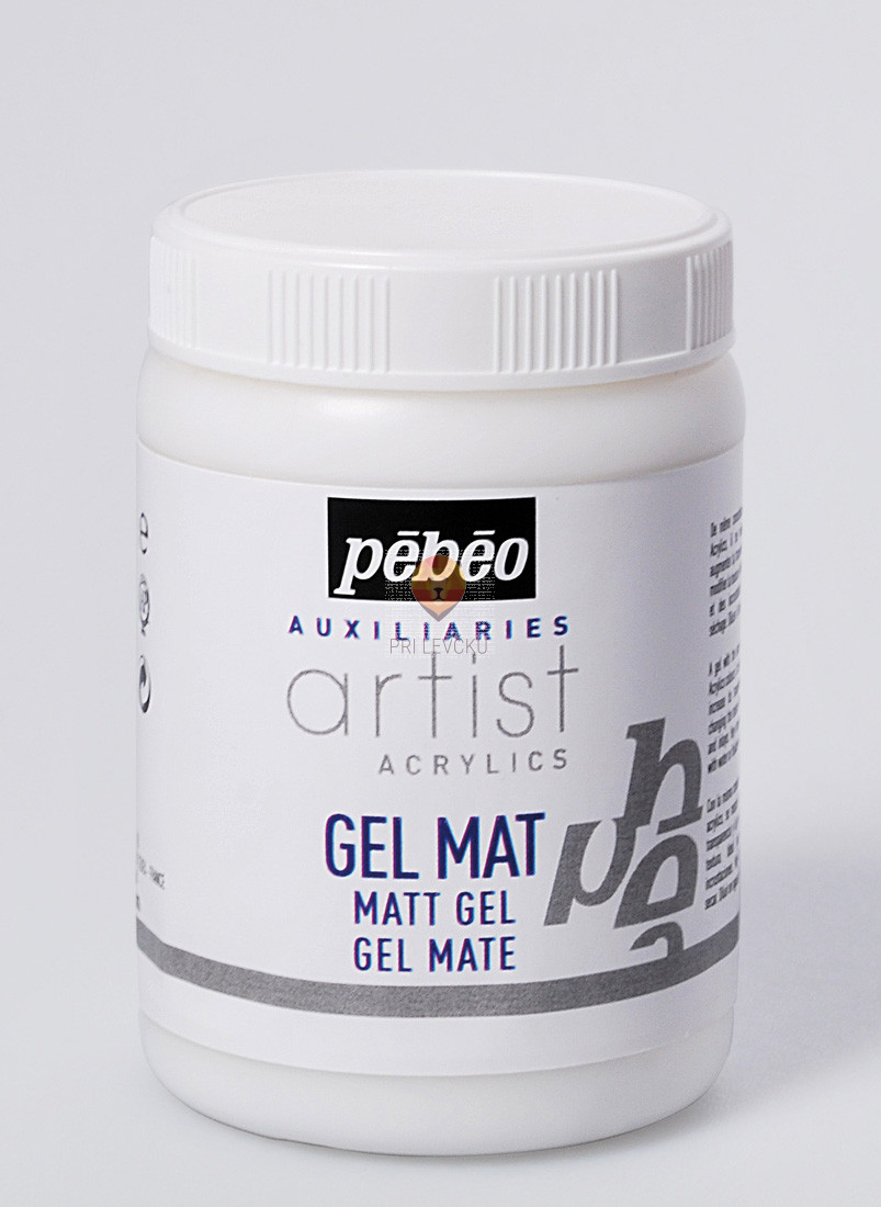 Mat gel, 250 ml