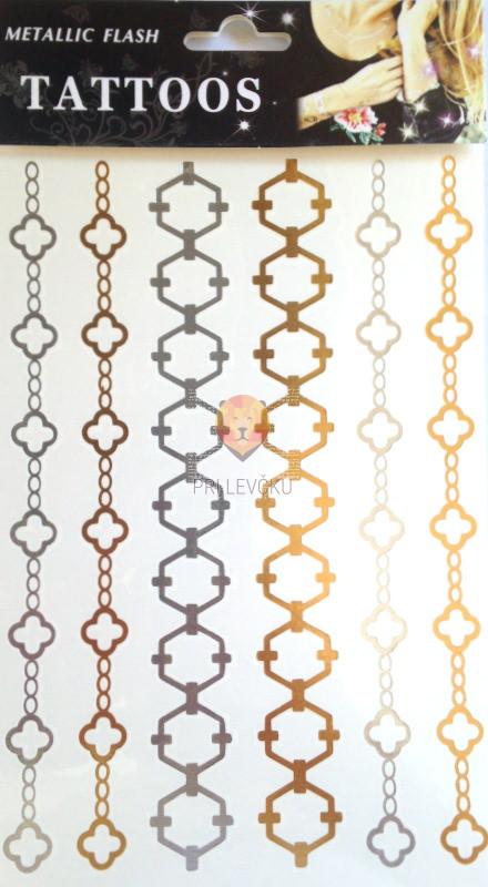 Začasni tatu v obliki nakita 20x15cm