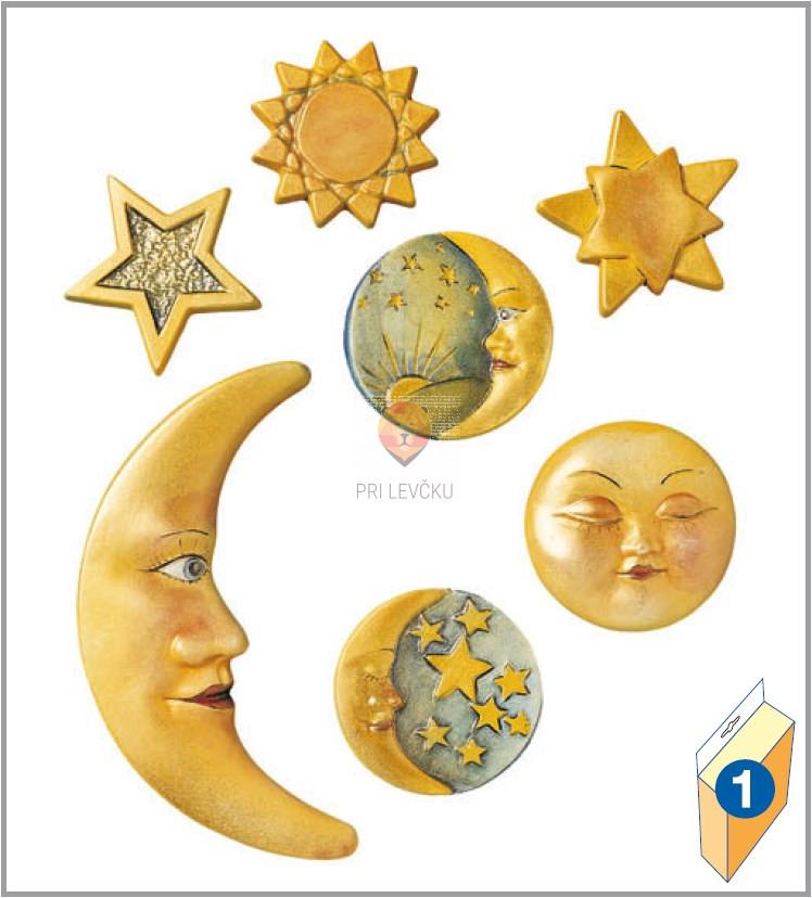 Kalup za vlivanje Luna in zvezde