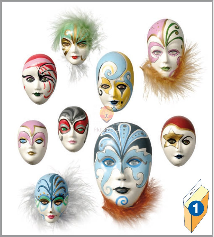 Kalup za vlivanje Maske