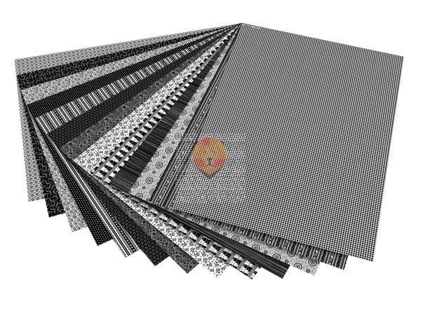 Karton z motivi Black and White 50x70 cm 1 kos