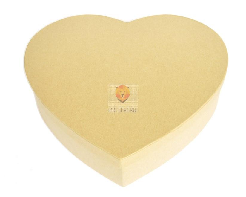 Kartonasta škatla srce velika